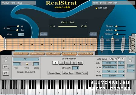 MusicLab - RealStrat v.2.4 (RePack/2012/ENG)